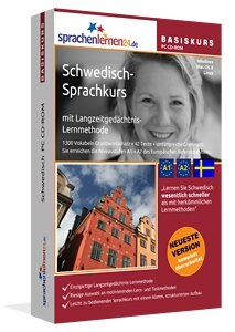 Schwedisch lernen Buch Front mit lachender Schwedin