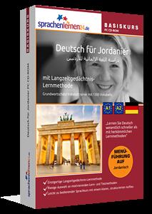 Deutsch für Jordanier lernen