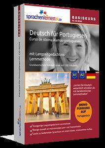 Deutsch für Portugiesen lernen