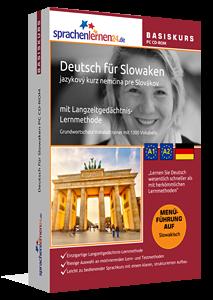 Deutsch für Slowaken lernen