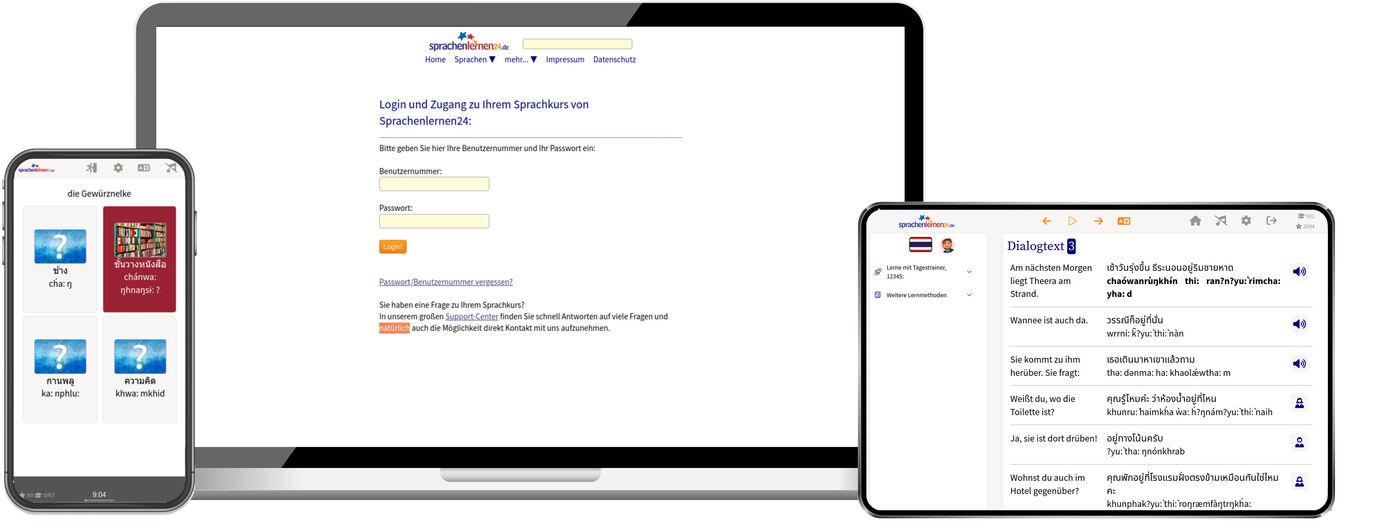 Thai Lernen Mit Langzeitgedächtnis Methode 2020